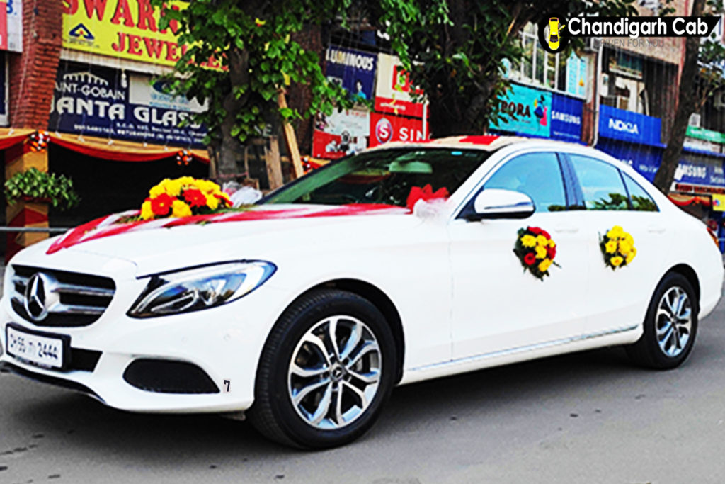 mercedes on rent in chandigarh | mercedes car for doli ...