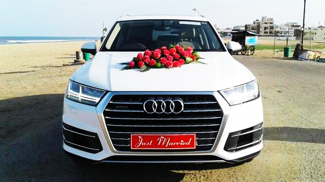 wedding cars for rent in chandigarh